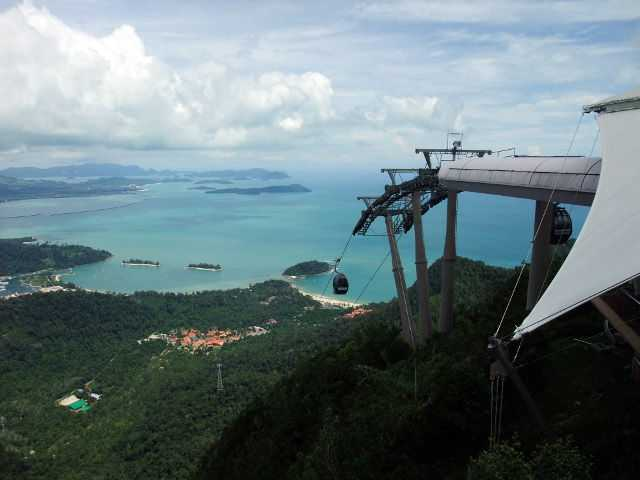 Langkawi Cable Car.
