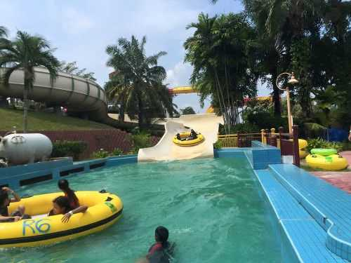A'Famosa Resort water park.