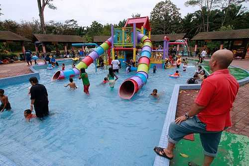 Wet World Resort Air Panas Pedas.