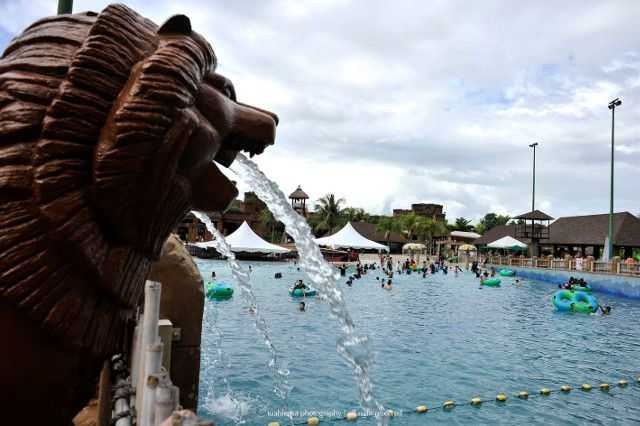 Jungle Wave Pool di Lost world of Tambun.