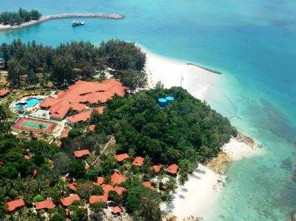 Sibu Island Resort.