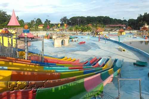 Temerloh Mini Waterpark.
