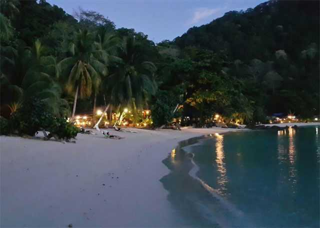 Tenggol Coral Beach Resort.